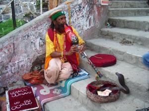 Snake Charmer in Rishikesh