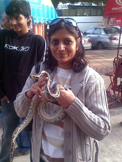 Python lady