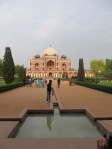 Humayun's Tomb from the main entrance
