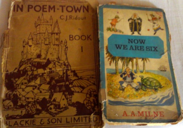 In Poem Town is from my maternal grandfather's collection, handed down from mom to me.
