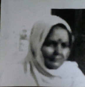 My Dadi's only photograph.