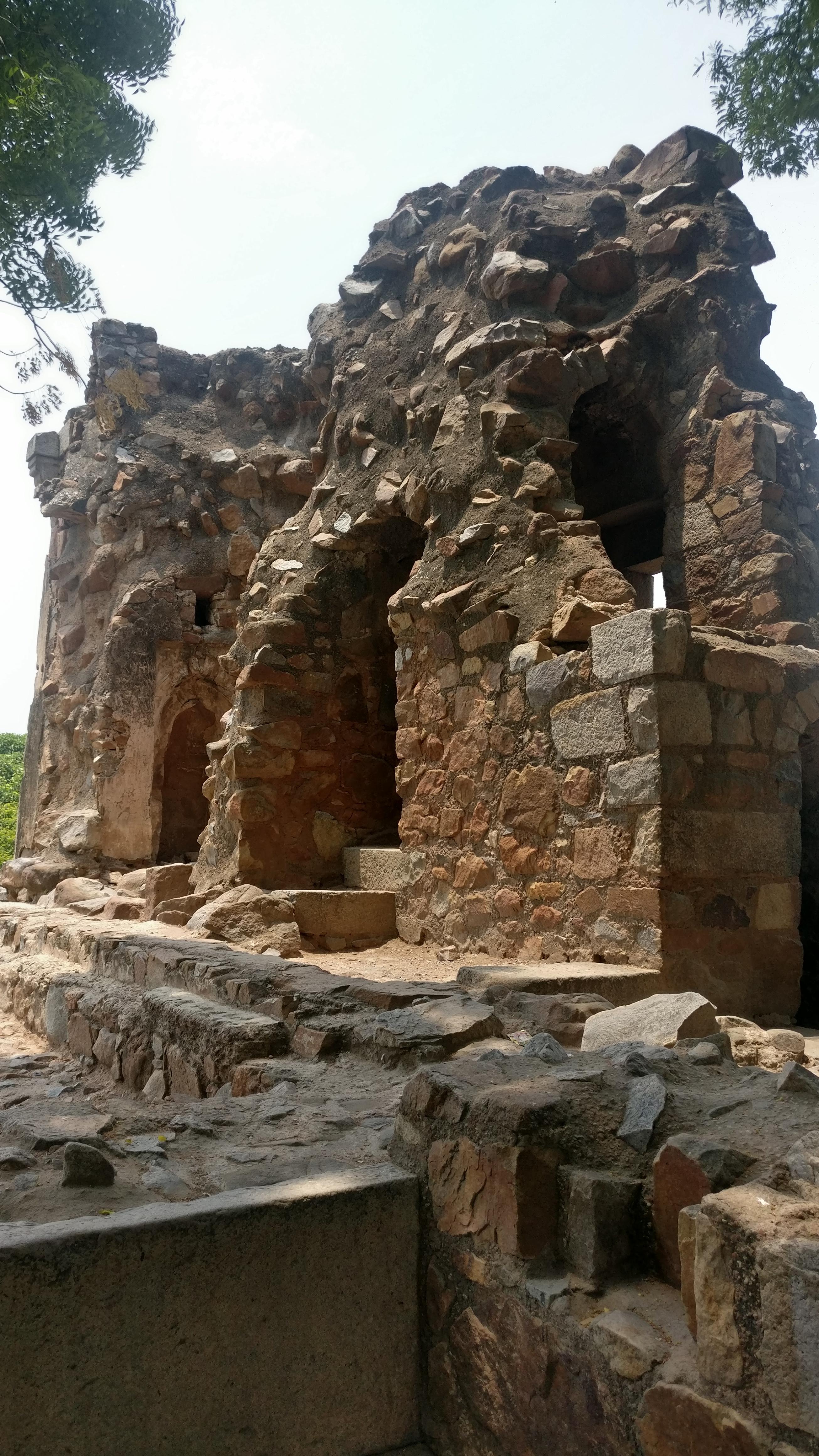 Delhi Monuments - Ambling Through Hauz Khas - Firoz Shah Tughlaq Tomb Complex - 1